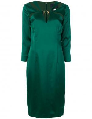CAVALLI CLASS stilīga zaļas krāsas sieviešu kleita