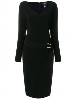 CAVALLI CLASS melnas krāsas skaista sieviešu kleita