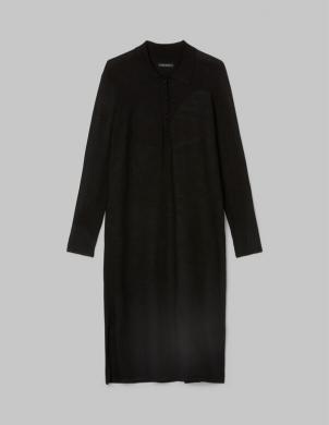 MARC O POLO sieviešu melna Polo tipa kleita