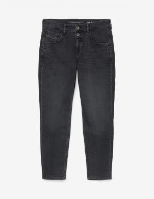 MARC O POLO sieviešu tumši pelēki sašaurināti džinsi