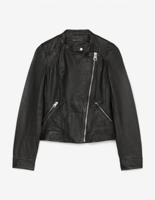 MARC O POLO sieviešu melna ādas jaka