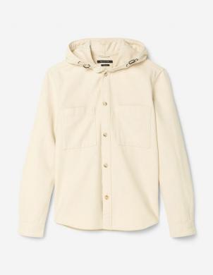 MARC O POLO vīriešu gaiša krekla tipa jaka ar kapuci