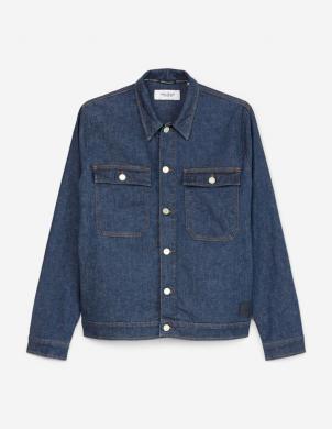 MARC O POLO vīriešu tumši zila džinsa jaka