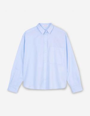 MARC O POLO sieviešu gaiši zils kokvilnas krekls