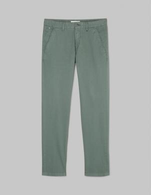 MARC O POLO vīriešu zaļas kokvilnas bikses