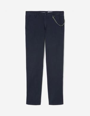 MARC O POLO vīriešu tumši zilas bikses ar ķēdi