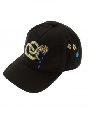 DIESEL melna cepure ar nagu CALEBI CHAPEAU