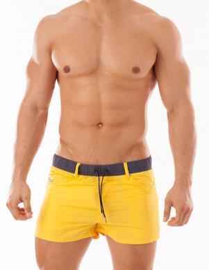 DIESEL dzeltenas vīriešu peldkostīma apakšbikses WAYKEEKI