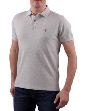 Pelēks vīriešu krekls GANT