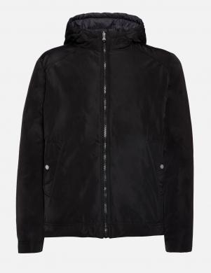 GEOX melna/pelēka divpusīga vīriešu jaka