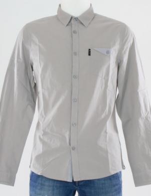 GUESS pelēks vīriešu krekls