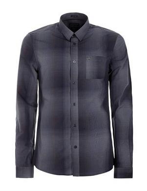 GUESS pelēks rūtains vīriešu krekls
