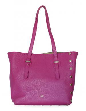 J&C Rozā ādas soma