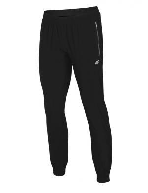 Melnas vīriešu sporta bikses SPMTR003 4F