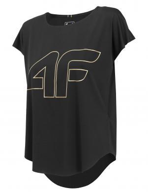 Melns sieviešu sporta krekls TSDF005 4F