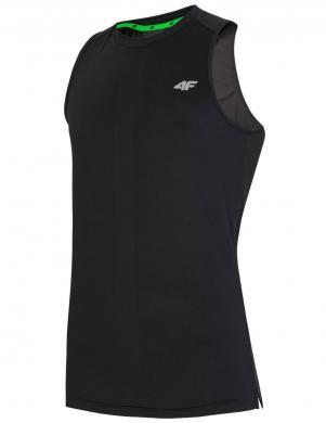 Melns vīriešu sporta krekls TSMF001 4F