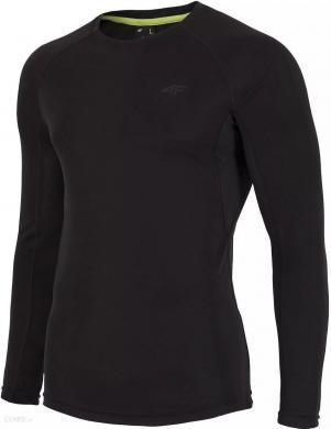 Melns vīriešu krekls ar garām piedurknēm  TSMLF001A 4F