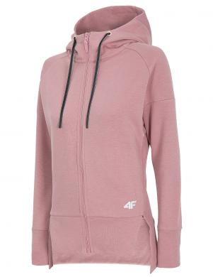Sieviešu rozā džemperis ar kapuci BLD013 4F