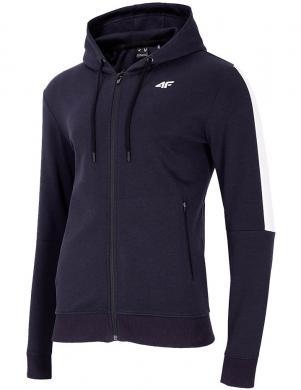 Vīriešu tumši zils džemperis ar kapuci BLM003 4F