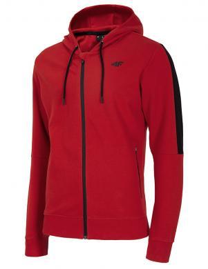 Vīriešu sarkans džemperis ar kapuci BLM003 4F
