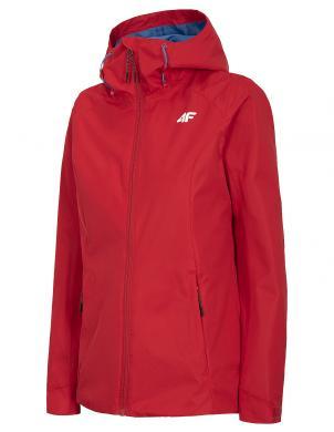 Sieviešu sarkana brīva laika jaka ar kapuci KUD001 4F
