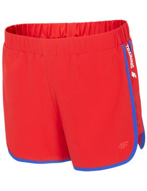 Sieviešu sporta sarkani šorti SKDF001 4F