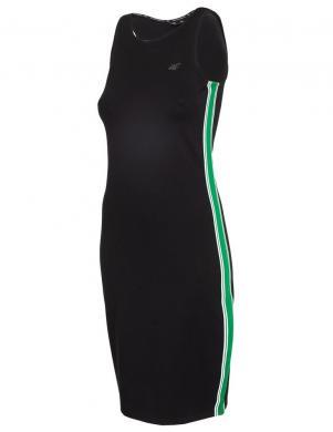 Sieviešu melna brīva laika kleita SUDD010 4F