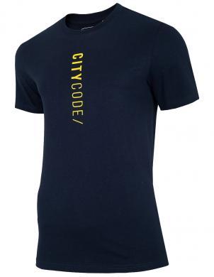 Vīriešu tumši zils krekls TSM016 4F