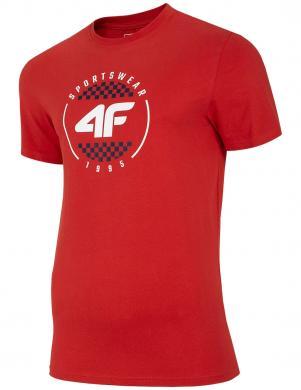Vīriešu sarkans krekls TSM022 4F