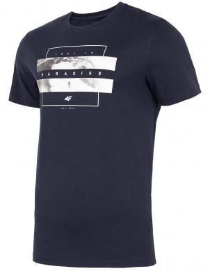 Vīriešu tumši zils krekls TSM035 4F