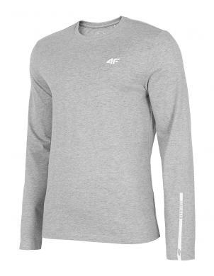 Vīriešu gaiši pelēks ar garām piedurknēm krekls TSML011 4F