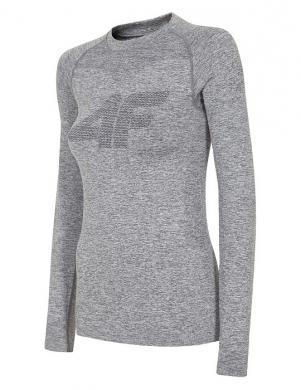 Pelēks sieviešu termo krekls ar garām piedurknēm BIDB004G 4F