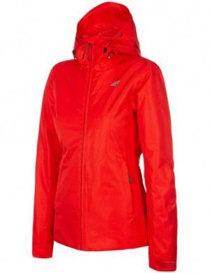Sarkana sieviešu slēpošanas jaka KUDN001 4F