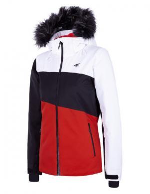 Krāsaina sieviešu slēpošanas jaka KUDN004 4F