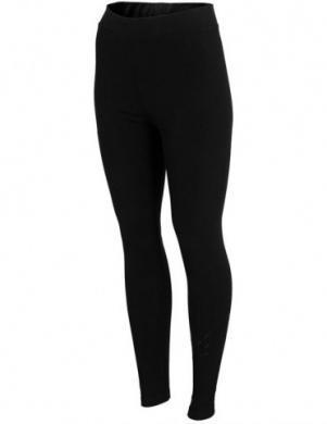 Melnas sieviešu sporta bikses LEG001 4F