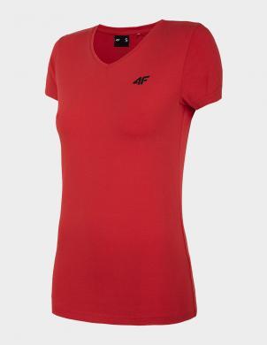 Sarkans sieviešu krekls TSD002 4F