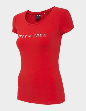 Sarkans sieviešu krekls TSD004 4F