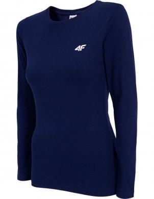 Zils sieviešu krekls ar garām piedurknēm TSDL001 4F
