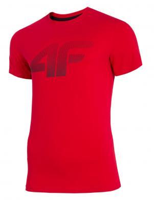 Sarkans vīriešu krekls TSM071 4F