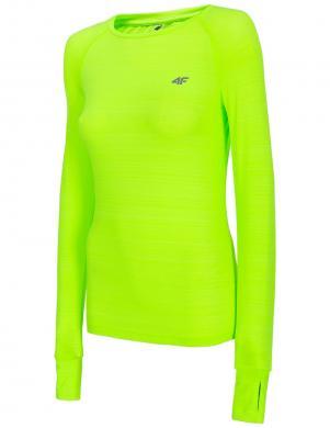 Sieviešu neona sporta ar garām piedurknēm krekls TSDLF001 4F