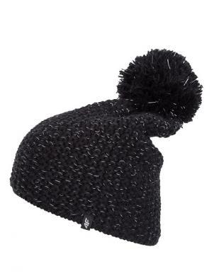 Melna sieviešu cepure ar vilnu CAD272 4F