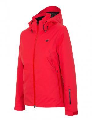 Sarkana sieviešu slēpošanas jaka KUDN154 4F
