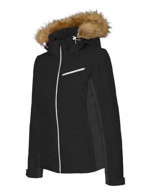 Melna sieviešu slēpošanas jaka KUDN270 4F