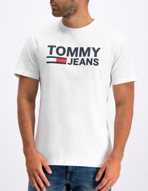 TOMMY JEANS balts vīriešu krekls