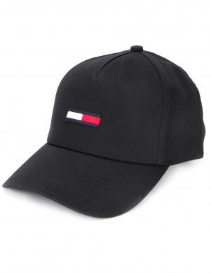TOMMY HILFIGER melna sieviešu cepure