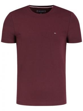 TOMMY HILFIGER tumši sarkans vīriešu krekls