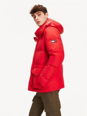 TOMMY HILFIGER sarkana vīriešu jaka
