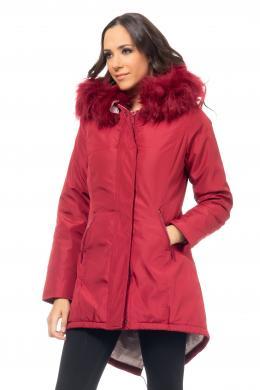 TANTRA sarkana sieviešu jaka