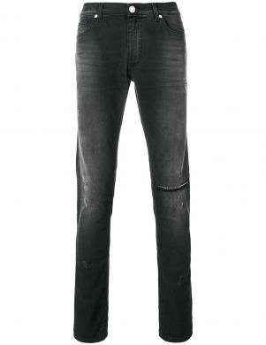 VERSACE JEANS melnas krāsas stilīgi vīriešu džinsi