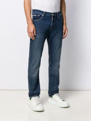 VERSACE JEANS zili vīriešu džinsi